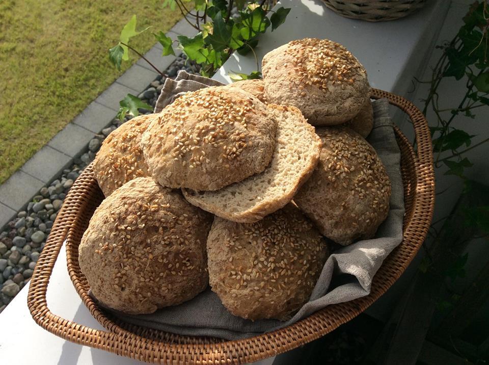 Glutenfri og lactosefri burgerboller