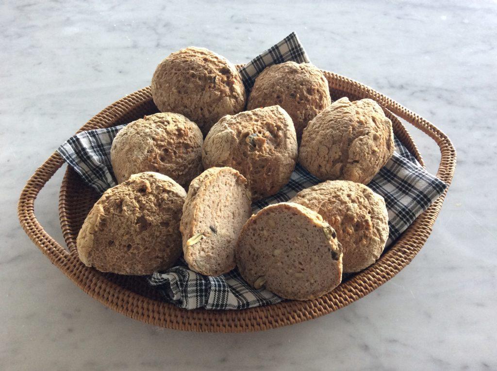 glutenfri og lactosefri valnøddeboller