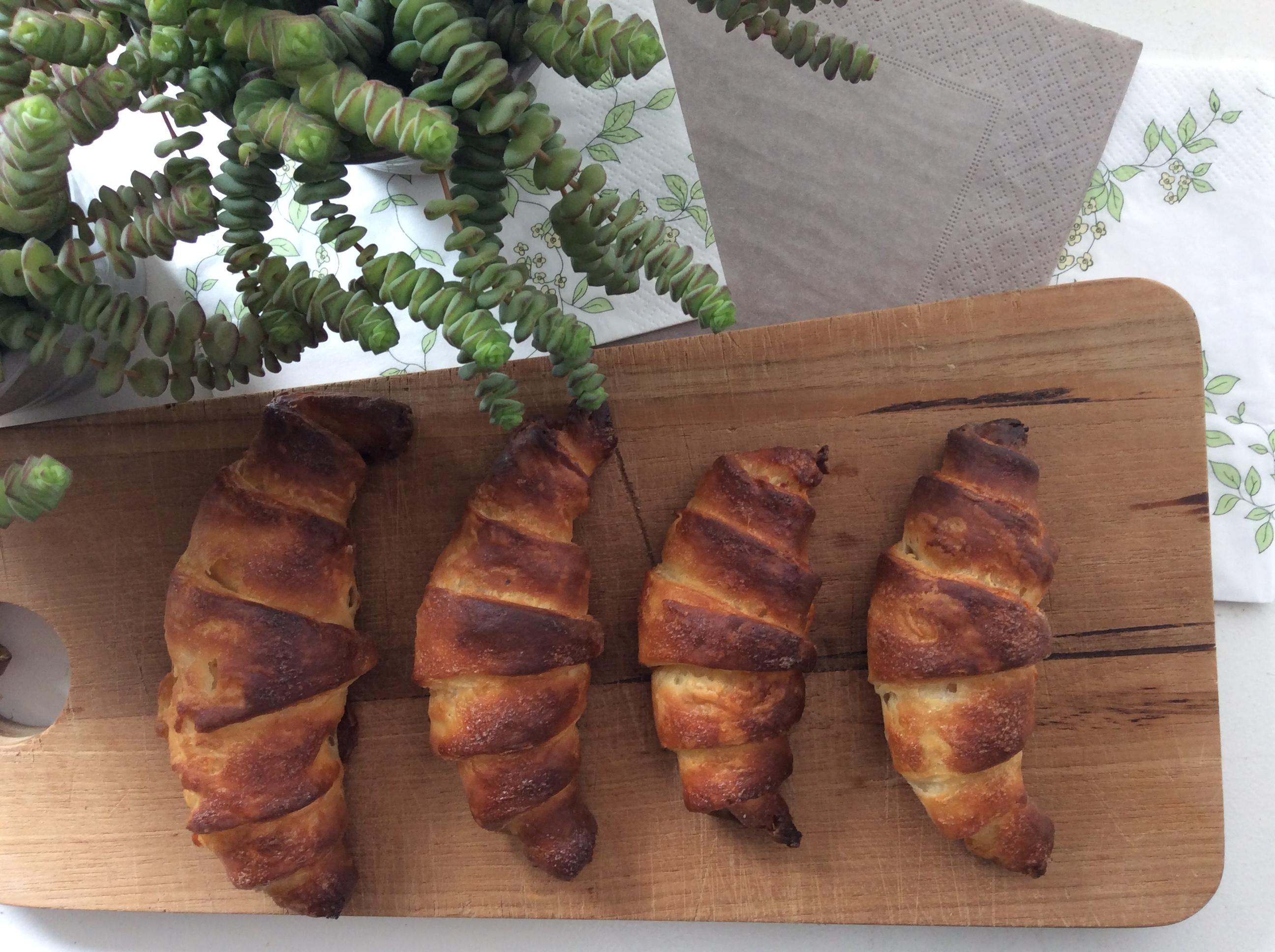 Luftige og lækre glutenfri croissanter