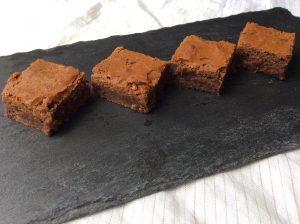 glutenfri brownie med mintsmag