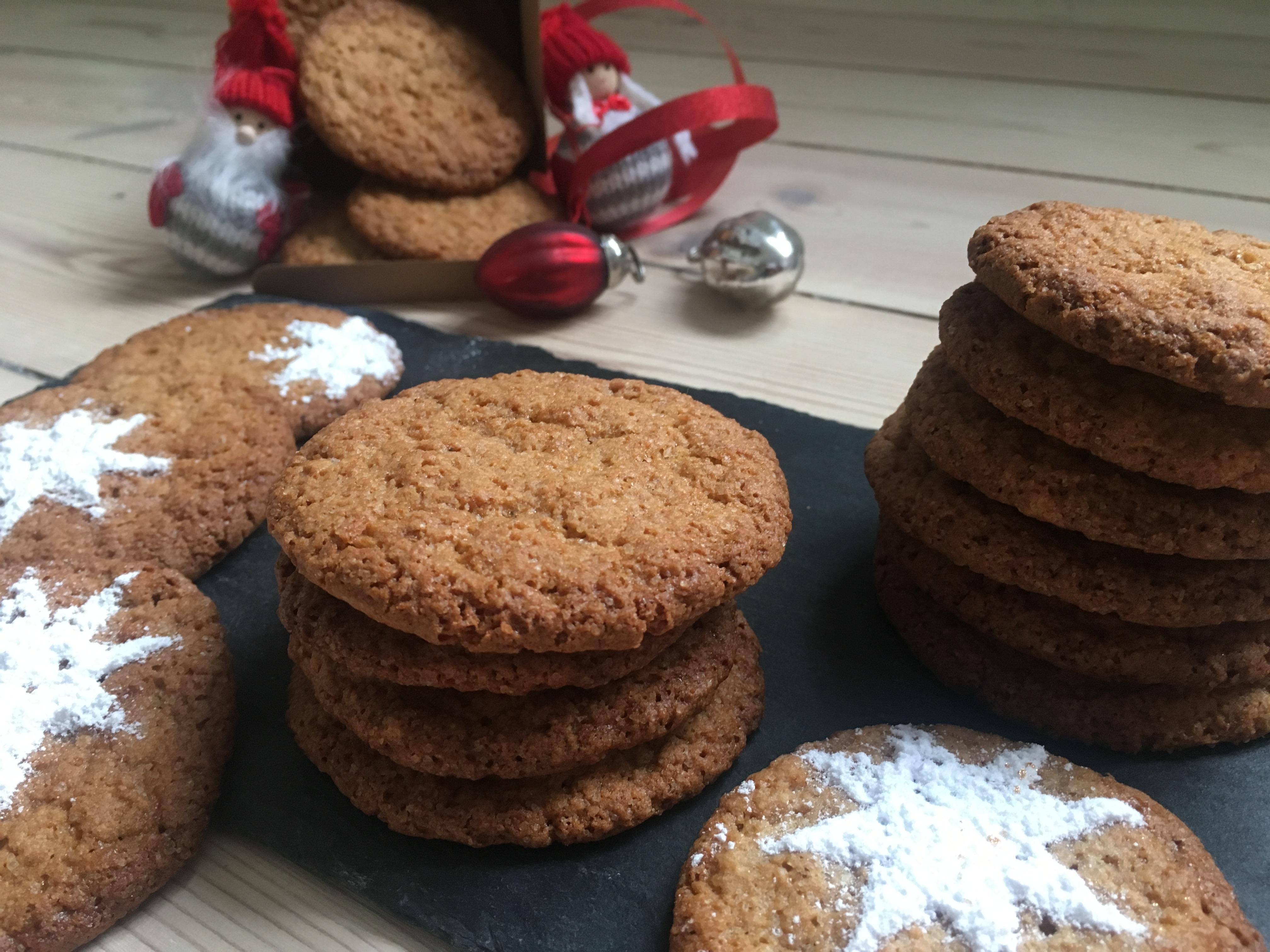 Ingefær småkager, glutenfri og mælkefri